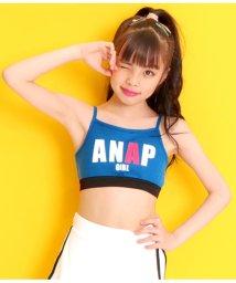 ANAP GiRL/配色ロゴブラトップ/502297810