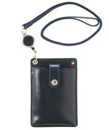 ADC/イタリアンレザーリール付きIDカードホルダー/502317544