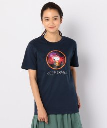 FREDYMAC/【PEANUTS×FREDYMAC】SNOOPY DEEP SPACE Tシャツ/502323522