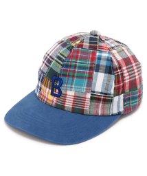BEAVER/BOHEMIANS/ボヘミアンズ MADRAS PATCHWORK BB CAP 3pcs/min/キャップ/502338054