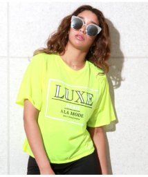 ANAP USA/LUXEプリントネオンTシャツ/502338125