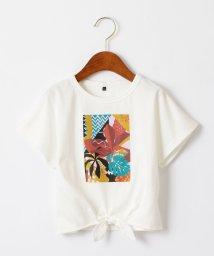 green label relaxing (Kids)/アフリカプリントスソシバリTシャツ/502338754