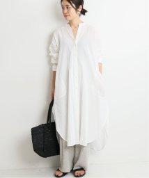 IENA/maisonラミーコットン BIGシャツワンピース/502339429