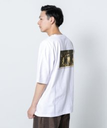 SENSE OF PLACE/アートグラフィックTシャツ(5分袖)/502339737