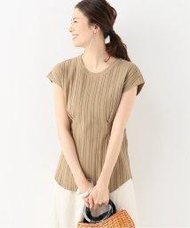 IENA/R JUBILEE ウエストタック フレンチスリーブTシャツ/502339806