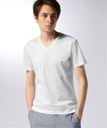 EDIFICE/CITA / チータ VネックTシャツ/502340680