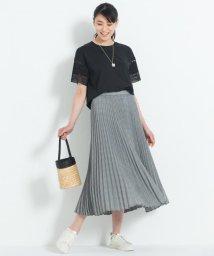 JIYU-KU /【洗える】HANATWIST CHECK プリーツスカート/502340892