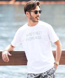 JIGGYS SHOP/ピグメントダイプリントTシャツ / Tシャツ ティーシャツ 半袖 Vネック クルーネック /501020426
