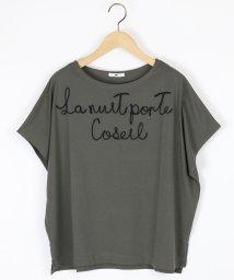 LASUD/【ミルポア MIREPOIX】コード刺繍 フォントデザイン カットソー/501963087