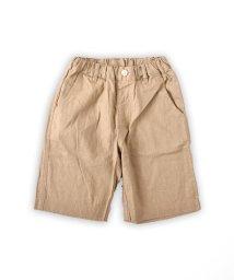 SLAP SLIP/綿麻ベーシック膝上パンツ/502039665