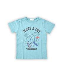 SLAP SLIP/天竺波乗りサメプリントTシャツ/502279452