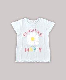 SLAP SLIP/天竺フラワープリントTシャツ/502279455