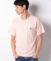 INCREWSIVE/【INCREWSIVE】6.5オンス コットン ワンポイント刺繍Tシャツ/502325168
