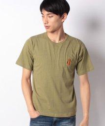 INCREWSIVE/【INCREWSIVE】6.5オンス コットン ワンポイント刺繍Tシャツ/502325171