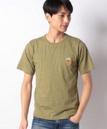 INCREWSIVE/【INCREWSIVE】6.5オンス コットン ワンポイント刺繍Tシャツ/502325173