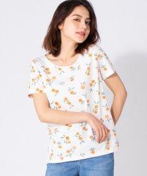 en recre/【DES PETITS HAUTS】ボタニカルモチーフTシャツ/502328245