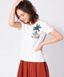 en recre/【DES PETITS HAUTS】ボタニカル刺繍Tシャツ/502328246