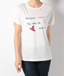 en recre/【Nouque】メッセージロゴプリントTシャツ/502328275