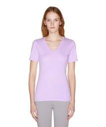 BENETTON (women)/Vネック半袖Tシャツ・カットソー/502331368
