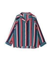 SILKY/【3柄から選べる】柄開襟ボリュームシャツ/トップス/502331681