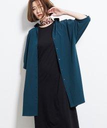 ROPE' PICNIC/【汗ジミ防止】バックタックシャツワンピース/502340212