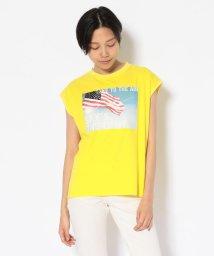 AVIREX/【mini 7月号掲載】スリーブレスボックスティーシャツ スカイザリミット/SLEEVELESS T-SHIRT SKY'S THE LIMIT/502340934