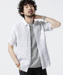 nano・universe/Herdman Linenシャツ SS /502341412