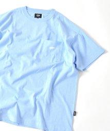 SHIPS MEN/VANS: エクスクルーシブ エンブロイダリー ポケット Tシャツ/502341706