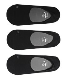 LUXSTYLE/Healthknit(ヘルスニット)Ag+ 抗菌加工無地インステップソックス 3足セット/靴下 メンズ ソックス ショートソックス くるぶし/502342550