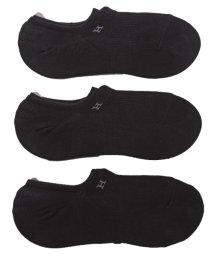 LUXSTYLE/Healthknit(ヘルスニット)Ag+抗菌加工Hロゴインステップソックス 3足セット/靴下 メンズ ソックス ショートソックス くるぶし ロゴ/502342552