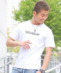 LUXSTYLE/OCEANSURFロゴプリント半袖Tシャツ/Tシャツ メンズ 半袖 ロゴ プリント/502342568