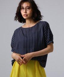 UNTITLED/【洗える】クルーズストライプスクエアシャツ/502342923