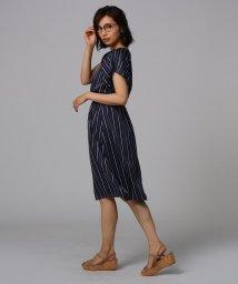 UNTITLED/[L]【洗える】ジプシーストライプワンピース/502343237