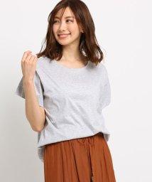Dessin/【洗える】ペーパータッチ コットン Tシャツ/502343351