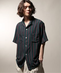 JOURNAL STANDARD relume Men's/PENNYS× relume 別注  STRIPE オープンカラーシャツ/502343816