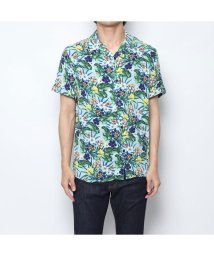 GUESS/ゲス GUESS HAWAIIAN MIX SHIRT (MINT JUNGLE PRINT)/502344178