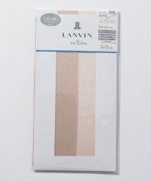 LANVIN en Bleu(ladies socks)/ブライトパンスト(ひざ下丈)/502308214