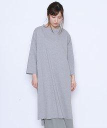 LASUD/【マンサール Mansart】オーバーサイズ カットワンピース/502308231