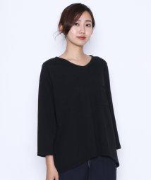 LASUD/【マンサール Mansart】ゆるVネック ロングTシャツ/502308234