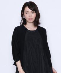 LASUD/【アーガ Aga】ボタンレス 7分袖 ニット カーディガン/502308248