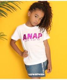 ANAP KIDS/ホログラムロゴTシャツ/502316318
