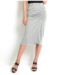 LATINA/サイドギャザーデザインナロースカート/502316356