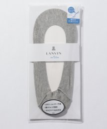 LANVIN en Bleu(ladies socks)/テープ付カバー(浅履き・綿混)/502321955