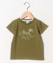 LAGOM/恐竜プリントTシャツ/502328484