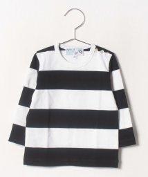 agnes b. ENFANT/J019 L TS ボーダーTシャツ/502334368