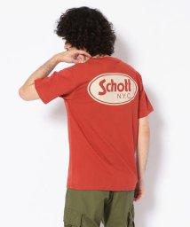 Schott/OVAL LOGO T-SHIRT/オーバル ロゴ Tシャツ/502344317