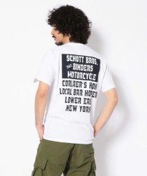Schott/BINDERS MOTOR CYCLE T-SHIRT/バインダーズ モーターサイクル Tシャツ/502344319