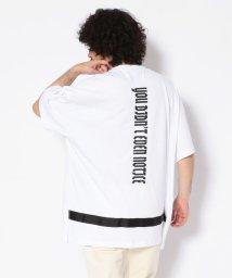 LHP/DankeSchon/ダンケシェーン/ストラップショートスリーブTシャツ/502344346