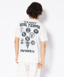 AVIREX/シール チーム Tシャツ/SEAL TEAMS PRINT T-SHIRT/502344350