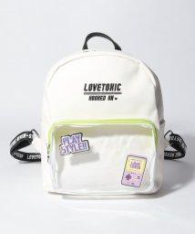 Lovetoxic/オーロラワッペンリュック/502331341
